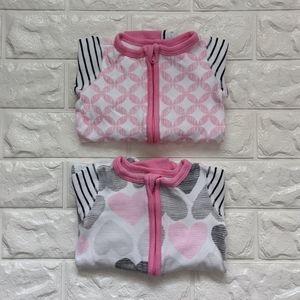 Boppy pajamas for a girl